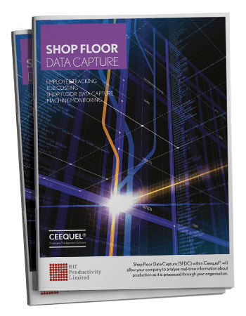 Shop Floor Data Capture Brochure
